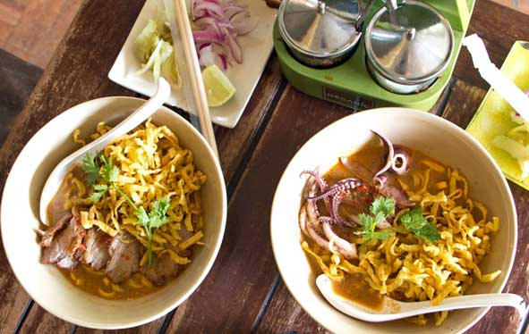 Thai eten